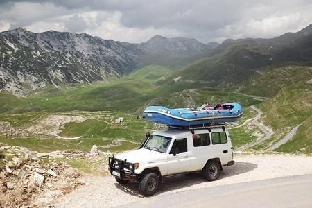 jeep safari rafting