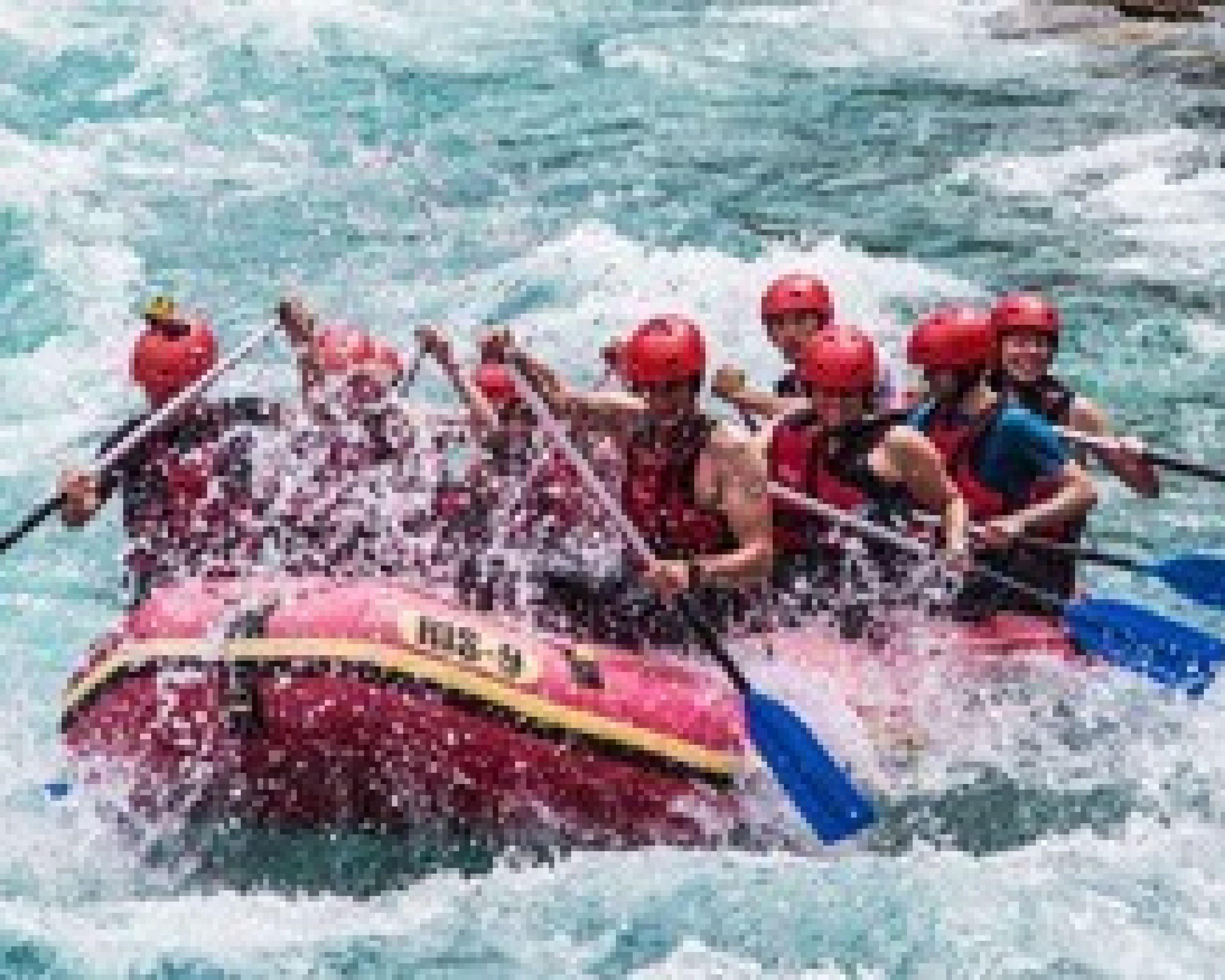Trodnevni rafting