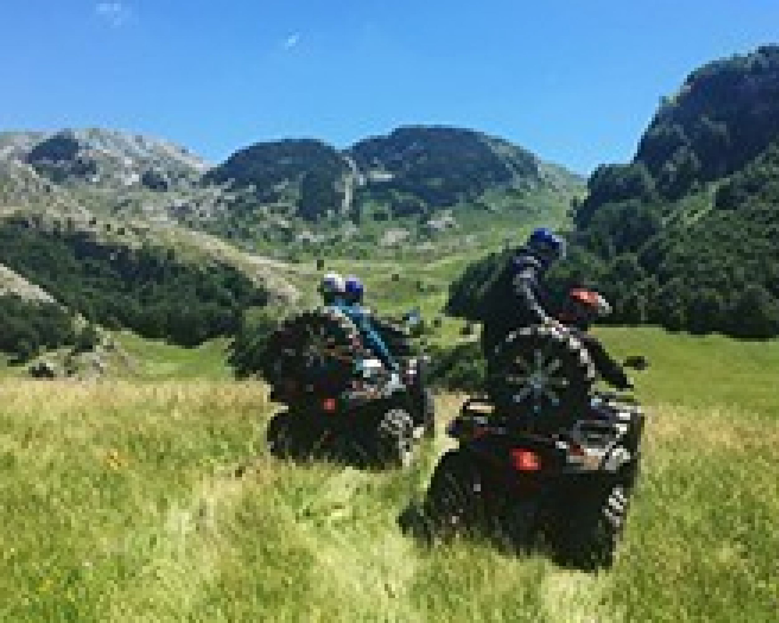 QUAD - Zelengora, all day  expedition