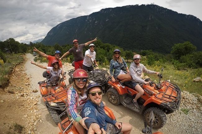ATV Quads and Rafting
