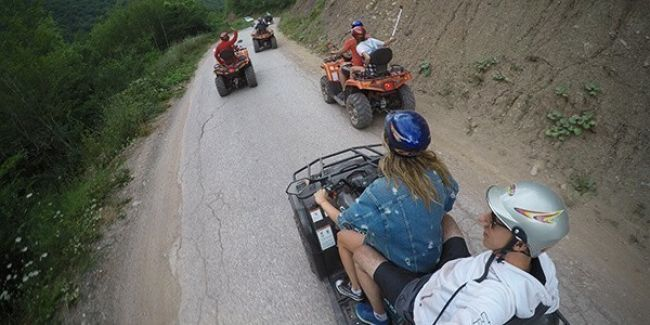 ATV quad – Drumul Dubrovnik