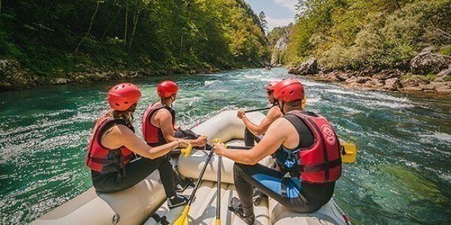 Giornata di rafting