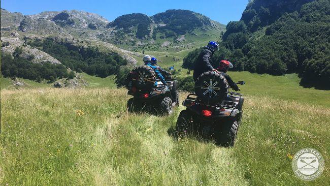 ATV quad – Zelengora