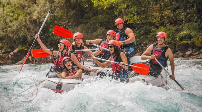 Rafting in September - third night and meals for free