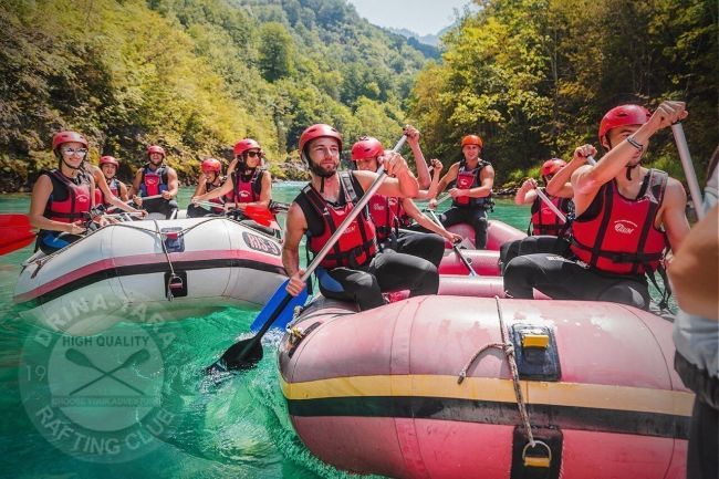 ATV-Quads und Rafting