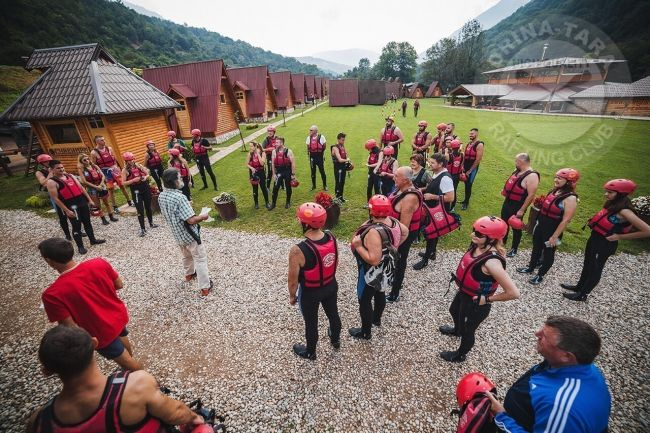 Dreitagiges rafting