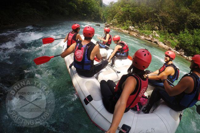 Rafting de 3 jours, raccourci