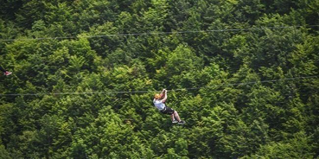 Zip Line & Pivsko Lake