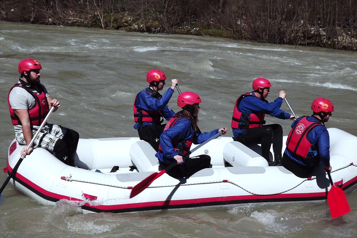 first rafting season 2018