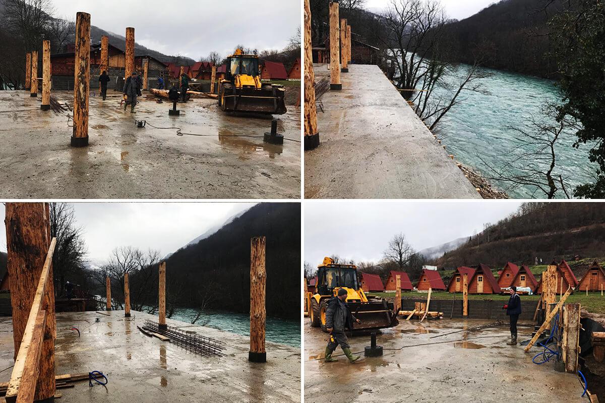 rafting tara winter 2018