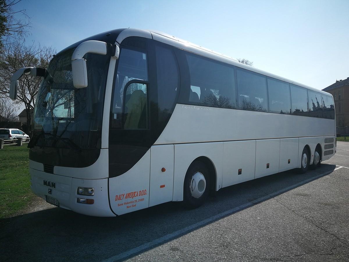 rafting tara organizovan prevoz man bus