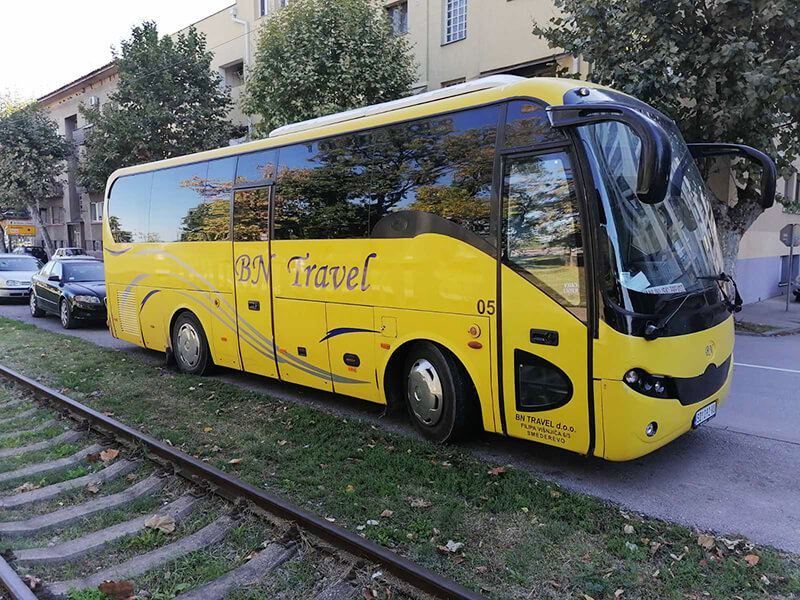rafting tara autobuz