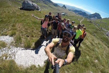 rafting tara hiking